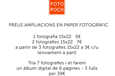 PREUS AMPLIACIONS PAPER FOTOGRAFIC